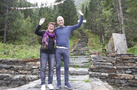 FAMILIEREKORD: For to år siden ble Ragnhild Forså slått av sønnen Emil, men i år har hun god kontroll på familierekorden og kommer til å slette den.