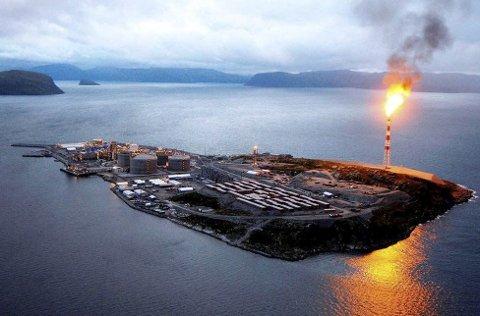 """MELKØYA SPRENGES: I sesong 3 av spenningsserien """"Okkupert"""" skjer det en enorm eksplosjon på Melkøya."""