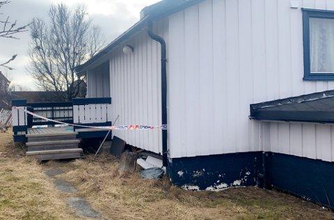FRIKJENT:  Drapsofferet Gisli bodde her da broren hans troppet opp med en ladd hagle aprilnatten 2019.