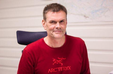 FORNØYD: Ulf Are Holsbø ved Trivselslaben er fornøyd med arbeidet de har fått til så langt hva angår oppgaven som frivilligkoordinator i Vadsø.