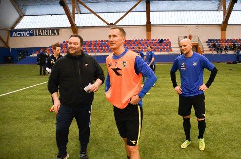 PROFILER: Morten Gamst Pedersen og Hans Norbye er to veteraner som Alta IF-trener Vidar Johnsen har i årets tropp. Gamst Pedersen signerte for Alta IF i slutten av april, etter han forlot klubben etter fjorårets sesong.