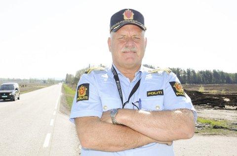 ETTERLYSER SJÅFØR: Lensmann Svein Engen i Aurskog-Høland.