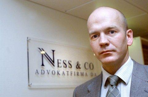 Bostyrer: Advokat Christian Lundin jobber med konkursene.