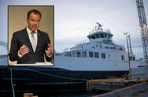 RETTE OPP: Fylkesrådsleder Tomas Norvoll forteller at tilliten til Boreal ikke er styrket etter selskapets seilingsnekt.