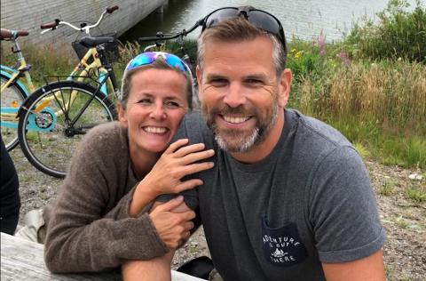 SAMSTEMT: Ekteparet Berta og Thomas Lende Røed tilbringer mye tid sammen.