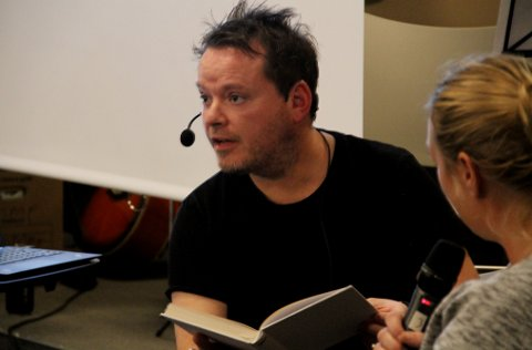 STERKT: Publikum fikk kjenne på hva angst betyr da Steffen Dahl etter mye om og men valgte en tilfeldig publikummer for utspørring om tankemestring.