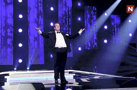 Er med fra 8. januar: Jan Kristian Hverven skal forsøke å fenge publikum og jury. Foto: TV Norge