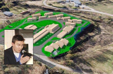 VANSKELIG Å FATTE: Jon Tunheim (H) mener 1.700 kvadratmeter kvartalslekeplass må være bedre for nærområdet enn at eiendommen blir liggende som den er.