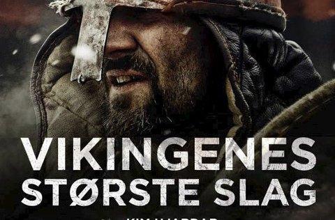 Ny vikingbok: Kim Hjardar fra Hof kommer med et nytt verk om vikingene. Denne gangen om deres største slag.
