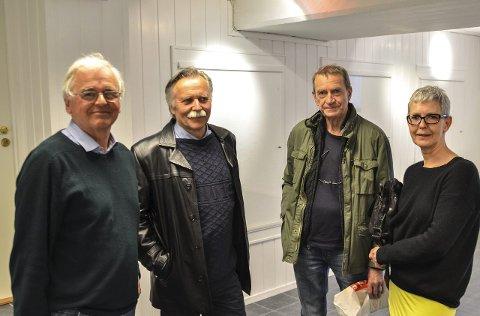 Det første styret: Fra venstre: Sverre Okkenhaug, Ole Jan Aatangen, Tore Juell og Anny Skaug Grøgaard. Unni Wærstad sitter også i styret.Foto: Jimmy Åsen