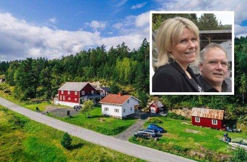 STOR PÅGANG: Torhild og Erik Hansen har fått mye å gjøre i sommer, og det gir seg ikke helt ennå.