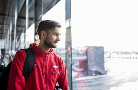Johnny Furdal (31), her på Flesland onsdag ettermiddag, har nå to uker på å overbevise Brann-trener Lars Arne Nilsen om at han er en mann å satse på. Foto: Skjalg Ekeland
