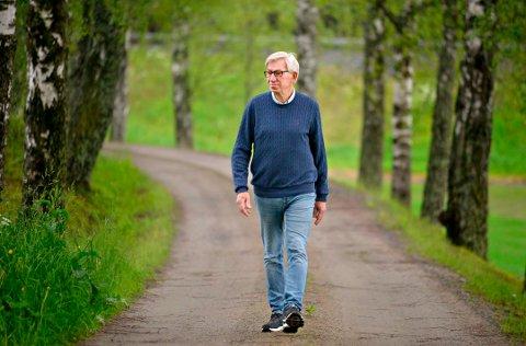 STYRELEDER: Helge Evju er styreleder i Norsk Bergverksmuseum.