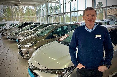 KOM MED NYHET: Tirsdag opplyste daglig leder Robert Mederud sine ansatte om at Funnemark Kongsberg AS får nye eiere. Bildet er tatt i fjor.