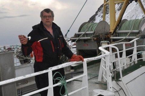 KRITISK:  Skipper Ketil Pettersen på «Storholm» er svært kritisk til norske myndigheters varslingsrutiner etter at de søndag havnet midt i en russisk marineøvelse. Foto: Kai Nikolaisen