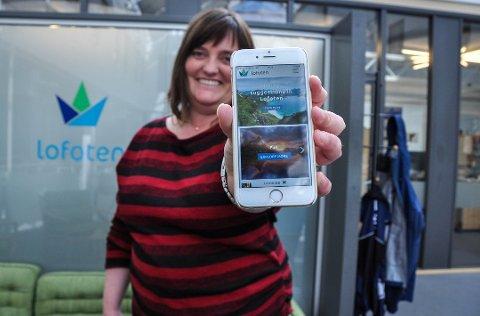 For to år siden lanserte Destination Lofoten en ny app. Da var det Hege Ragni Haugerud som var salgs- og produktansvarlig.