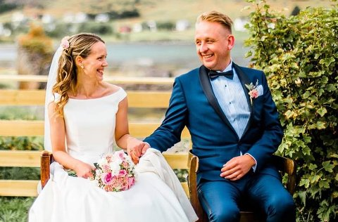 Kristian Talmo valgte å slutte på skolen og ta en sjanse da han fikk tilbud om jobb som restaurantsjef for nærmere 15 år siden. I den nye jobben møtte han Lene Martinsen Talmo fra Sennesvika, som han nå er gift med.