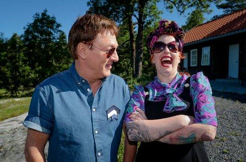 GOD STEMNING: Tor Endresen og Silya Nymoen.