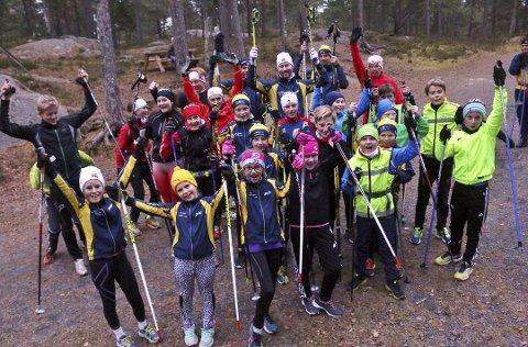 BYTTEKLARE: Dette bildet ble tatt foran byttedagen i fjor. Nå er Moss Skiklubb klare til en ny dag.