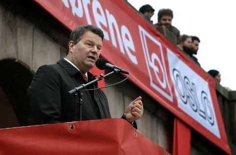 PENGER PÅ BOK: LO-topp Hans-Christian Gabrielsen har mye penger å rive fagforeningsarbeid for.