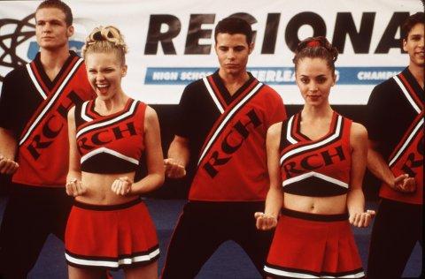 Kirsten Dunst og Eliza Dushku var blant hovedrollene i kassasuksessen «Bring It On».