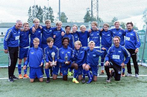 GULLGUTTER: Nordstrand G14 vant Adidas Cup i helgen.