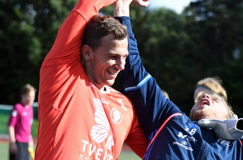 KLAR FOR MOLDE: Mathias Eriksen Ranmark er ferdig i Oppsal og tar nå steget til Molde Fotballklubb og Tippeligaen.