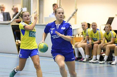 HURTIG: Emma Skinnehaugen viste fram hurtigheten sin med ti mål.
