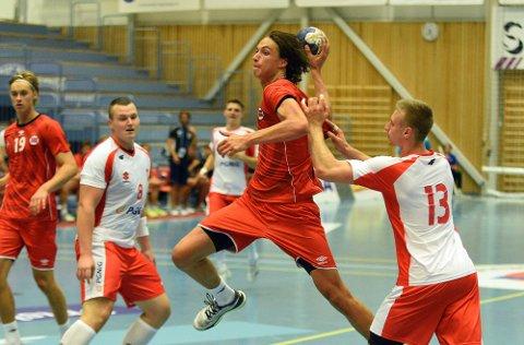 VM-KLAR: Fabian Sandven skal spille VM med ungdomslandslaget.