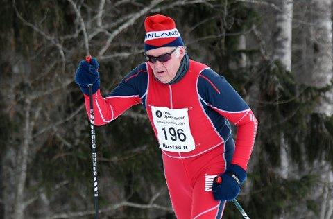 VETERAN: Einar Josef Berger har etterhvert gått Østmarkrunden rundt 30 ganger.