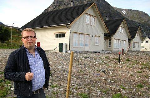 Arnøy Laks ed direktør Håvard Høgstad