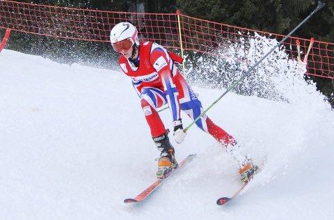 VM-bronse: Ådne Kristenstuen kjørte inn til en flott bronsemedalje under junior-VM i Les Contamines.