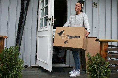 HELT UKJENT: Vilde Nylund Johnsen har foruten et år i forsvaret bodd i Oslo hele oppveksten. Nå er tiden inne for å prøve seg i en helt ny by, som hun har minimal kjennskap til fra før.