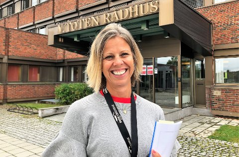 SAMARBEIDSLEDER: – Jeg kjenner ikke til noen andre kommuner som har opprettet en tilsvarende stilling til min, sier Monica Skjellen-Larsen. Hun leder det tverrsektorielle samarbeidet i Vestre Toten kommune.