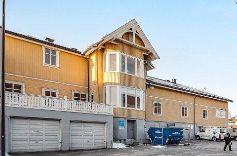 GAMMEL: Fischervillaen i Strandgata har røtter over 120 år tilbake i tid.