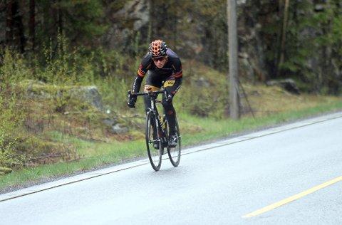 ... men allerede til uken er han tilbake på landeveissykkelen til Arctic Race of Norway.