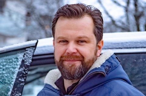 SKAL PÅ HYTTETUR: Lars Martin Magnus er en av mange som kan glede seg over hyttetur i vinterferien.