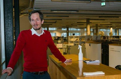 PÅSKEN BLIR AVGJØRENDE: Det sier ordfører Eivind Hoff-Elimari i Nesodden kommune.