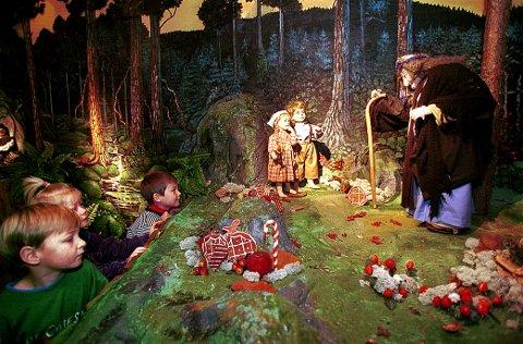 EVENTYRMUSEUM. Eventyrhuset i Stavern har på kort tid oppnådd stor popularitet, særlig blant barn og barnefamilier.