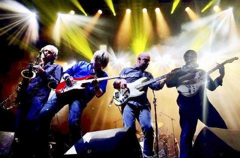 Stavern Live: Dire Straits Experience imponerte i fjor og kommer tilbake til Fredriksvern Verft 7. juli.