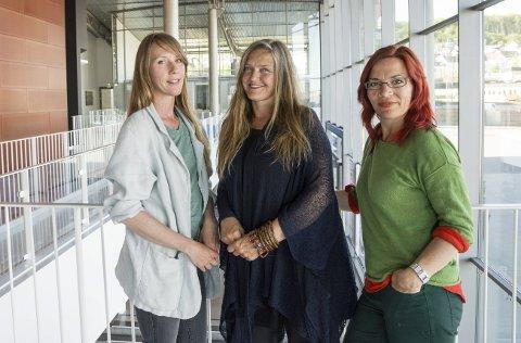 Kunstprosjekt: Kunstprosjektet SIRENE består av kunstnerne Eirin Støen og Nina Heum og kunstformidler Mari Ravler Johansen.