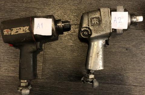 TYVGODS: Verktøyet ble funnet delvis i en leilighet i Larvik, og i en bag som ble funnet ute på Langestrand på Nyttårsaften. Nå søker politiet eierne.