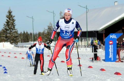 SEIER: Gyda Westvold Hansen fra Nansen IL vant kombinertkonkurransen i 16-årsklassen under Hovedlandsrennet.