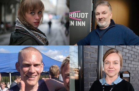 Silje Rønning Kampesæter og Alexander Nordby (til venstre) vil begge bli redaksjonssjefer i NRK Innlandet. Det samme vil Frode Nielsen Børfjord og Hanne Stine Kind (til høyre).
