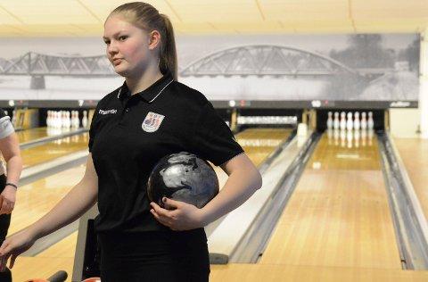 KJEMPETALENT: Jenny Mathiesen er et ungt kjempetalent som alt har vunnet NM-titler og er på juniorlandslaget.