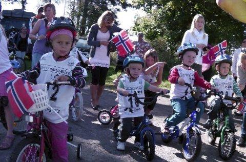 Tour de Eidanger for Kidz har kommet for å bli. I år kan det gå mot ny deltakerrekord.