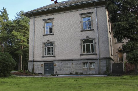 Barnehage: Barnehagens gjerde vil gå 14 meter fra husveggen på Øvre Frednes.