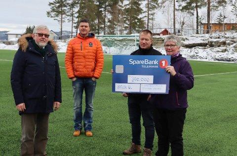 Jan Terje Olsen, Stig Kolbjørnsen, Tor Brønsten og Tone Brønsten.