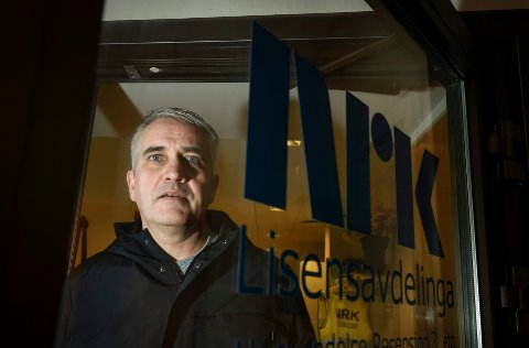 Avdelingsleder ved NRK Lisensavdelinga, Audun Strand, håper mediemeldingen - som skulle være klar før jul - kommer snart.