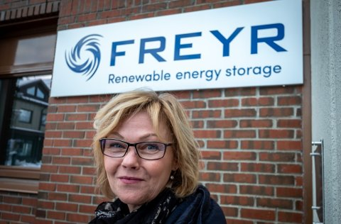 Sissel Helen Hultgren. Ny HR-sjef i Freyr.